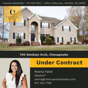 700 Denham Arch Chesapeake - Under Contract