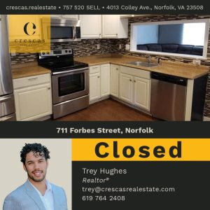 711 Forbes Street Norfolk - Closed