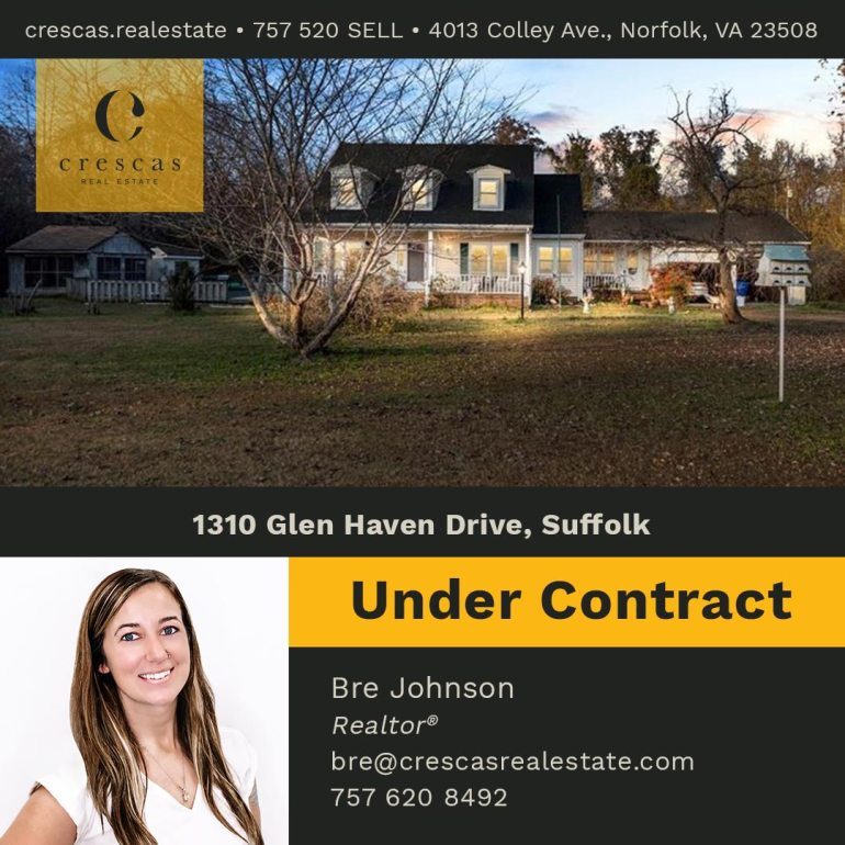 1310 Glen Haven Drive Suffolk - Under Contract