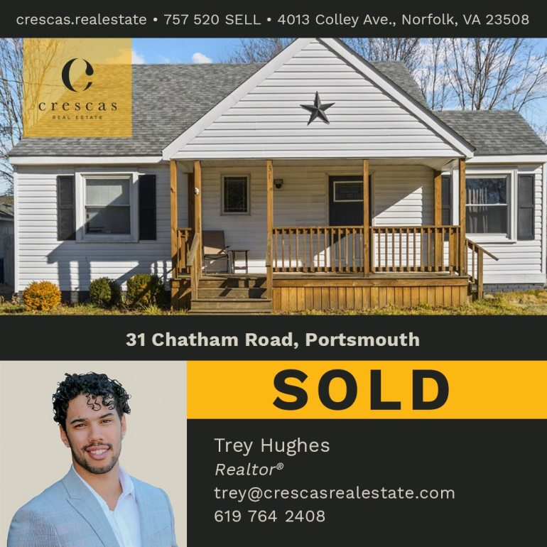 31 Chatham Road Portsmouth - Sold