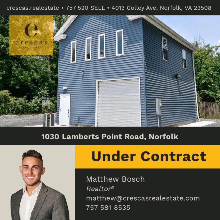 1030 Lamberts Point Road Norfolk - Under Contract