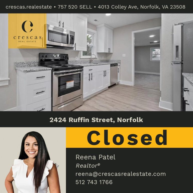 2424 Ruffin Street Norfolk - Closed