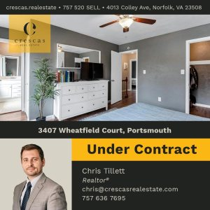 3407 Wheatfield Court Portsmouth - Under Contract