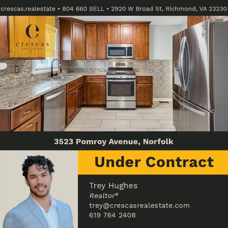 3523 Pomroy Avenue Norfolk - Under Contract