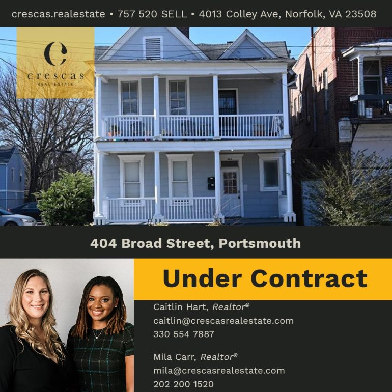 404 Broad Street Portsmouth - Under Contract
