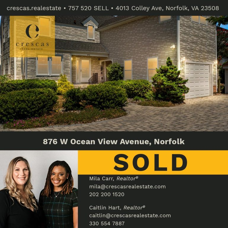 876 W Ocean View Avenue Norfolk - Sold