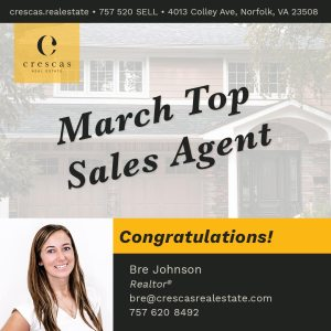 Top Sales Agent 2021-03 - Breanne