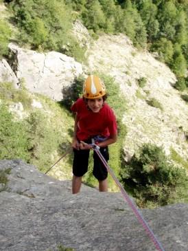 Hautes-Alpes : grande voie à la journée ou en stage avec un moniteur