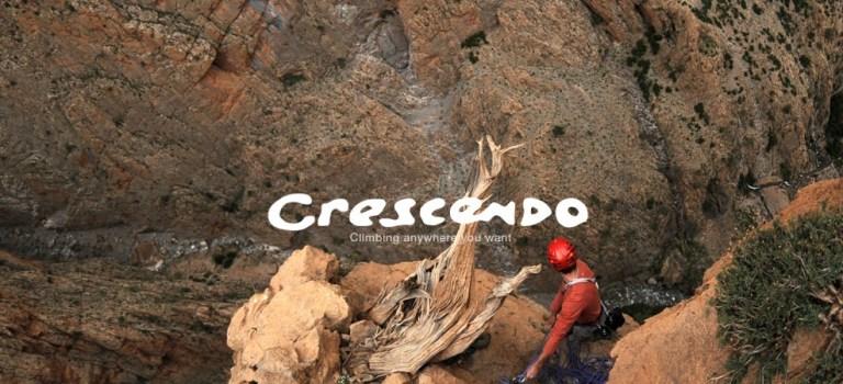 Le site Crescendo escalade est en ligne