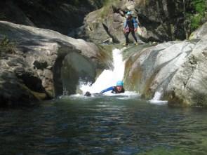 Découverte du Canyon de Capri dans le piémont italien, sportif, à partir de 14 ans
