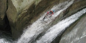 Sortie canyonisme à Capri, piémont italien, sportif, à partir de 14 ans