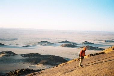 face au désert (Algérie)