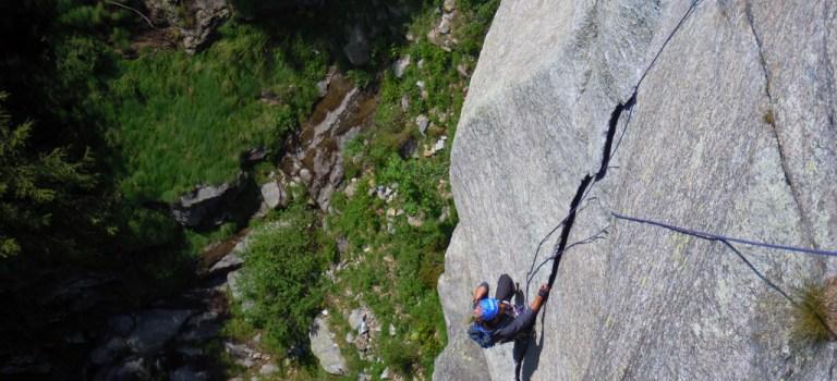 Trad au Val d'Orco: Oreille du Pachyderme – Rattle Snake