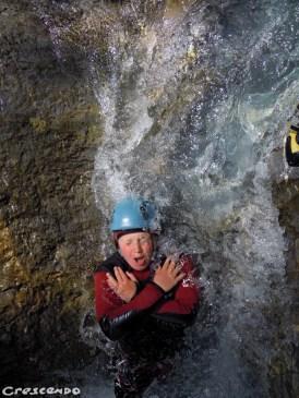 sorties canyoning découverte dans les Hautes Alpes sur une demi-journée