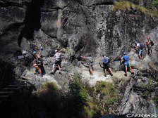 Simi week1 ViaFerrata - stage adolescents Hautes Alpes