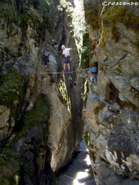 Simi Reizen - Activités via ferrata de via ferrata dans les Hautes-Alpes