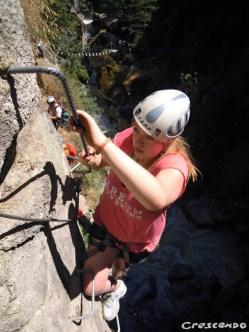 Via Ferrata - que faire dans les hautes alpes en été