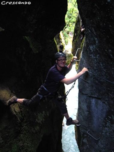 Via ferrata SIMI - activités sportives dans les Hautes Alpes