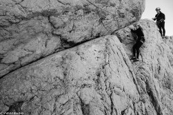 Sorties escalade dans les massifs des Calanques - Bec de Sormiou