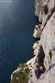 Castelvieil escalade Calanques