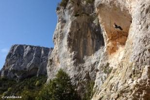 Verdon Suisse - Grandes voies escalade avec un encadrement personnalisé