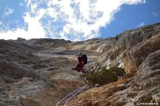 Les Caquous - Stage d'escalade en falaise