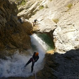 Canyons sportifs rappel