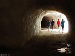 Verdon_Sanson_Tunnel - grimper dans le Verdon
