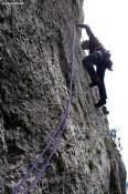 Grande voie Verdon - stage d'escalade avec moniteur