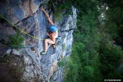escalade, grande voie, hautes alpes