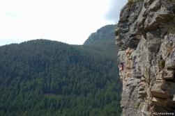 escalade, grande-voie dans les hautes-alpes