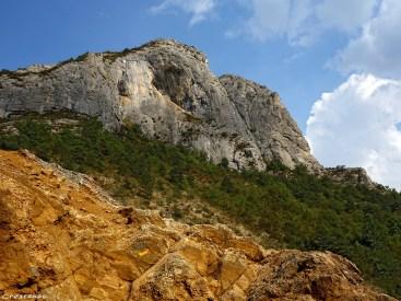 grimper à Orpierre, escalade en grande voie