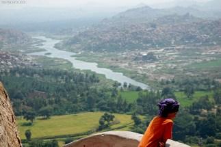 escalade en Inde, Inde Hampi, bloc en inde