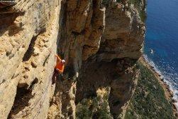 escalade au Cap Canaille, Ciao Bella, grimper Calanques