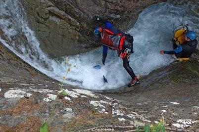 Canyon des Oules, Canyon sportif, Canyoning oules, canyon sportif embrun