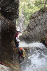 canyoning hautes-alpes, canyon 05, stage canyoning, guide canyon