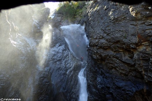 Oules de Freissinières, canyon des Oules, formation canyon 05