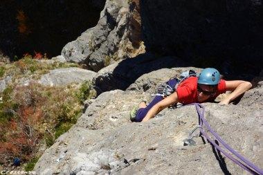 Paroi des Lys, escalade dans les hautes-alpes