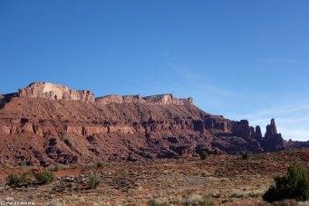 Colorado falaise, Moab escalade