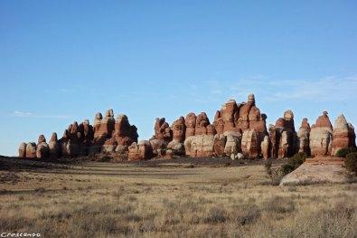 Needles, Canyonlands landscape