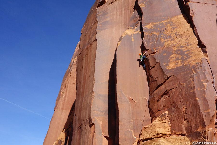 Grimpe autour de Moab-Utah... Indian Creek et desert tower
