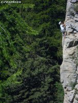 perfectionnement adulte escalade, progresser en falaise séjour falaise sportive