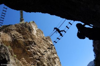 via ferrata for sporty people, sport outdoor south alps