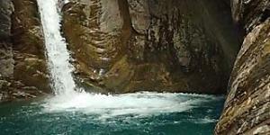 Canyoning sportif, canyon réallon, moniteur canyon