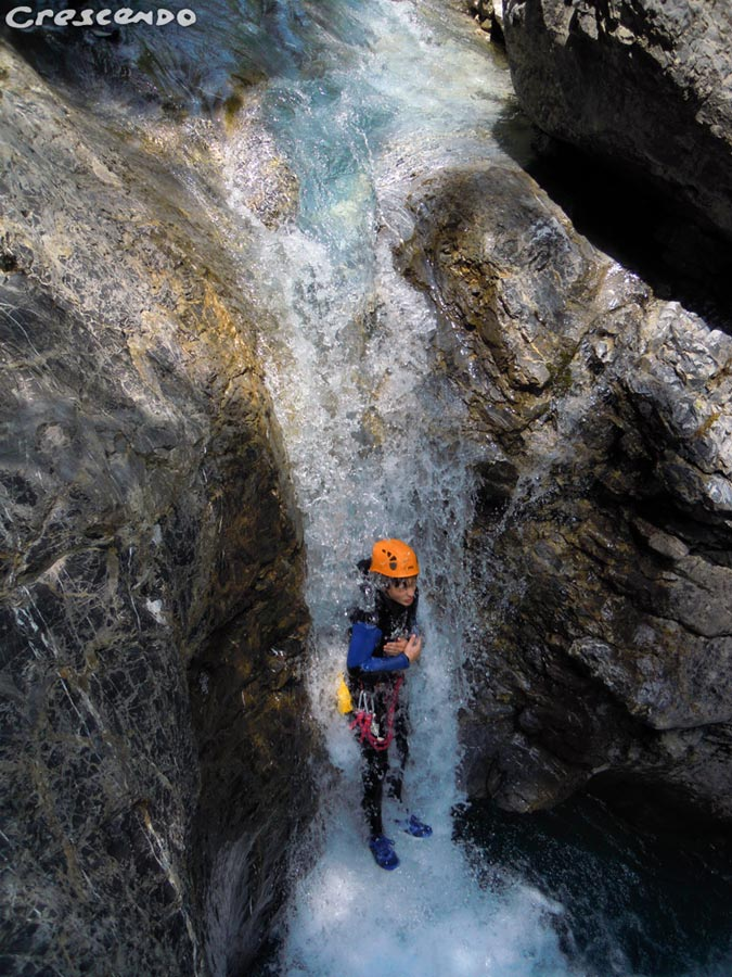 outdoot canyoning, canyoneering