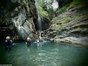 outdoor activities Embrun, Serre ponçon canyonig