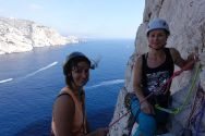 Grimpe Calanques, apprentissage escalade