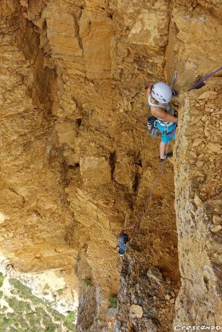 escalade Jas de la Penna, grimper en Provence