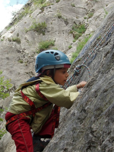 rock climbing children, climbing course
