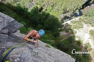 rock-climbing Briançon, mutli-pitch climbing, climbing guide